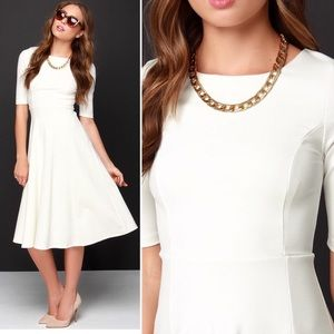 0b11f26119d Lulu s Dresses - Lulus having a shindig ivory midi dress
